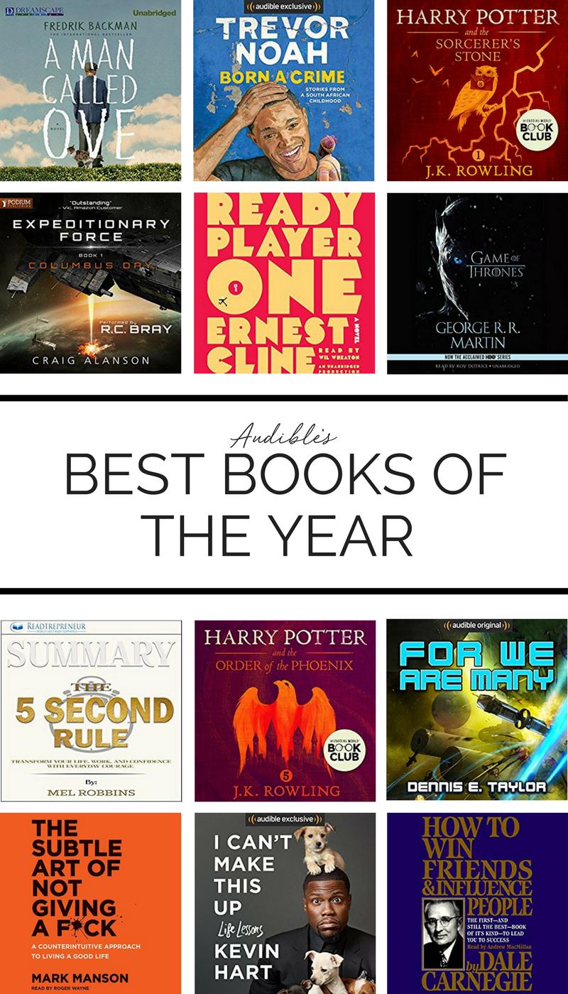 Audible's Best Audiobooks of the Year | Honey & Pine Co | Best