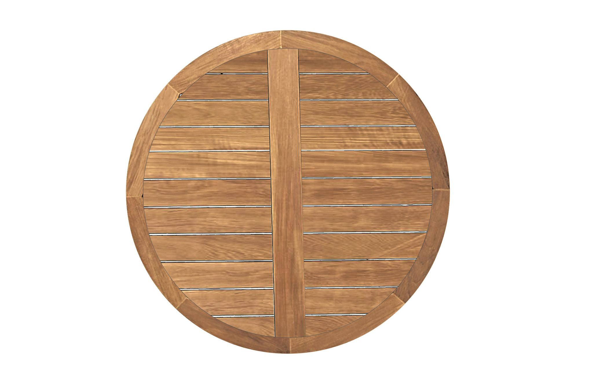 Club Teak 48 Round Teak Table Top Teak Table Solid Wood Table Table Top
