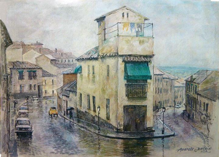 Anatoly Dverin, 1935 ~ Impressionist painter | Tutt'Art@ | Pittura * Scultura * Poesia * Musica |