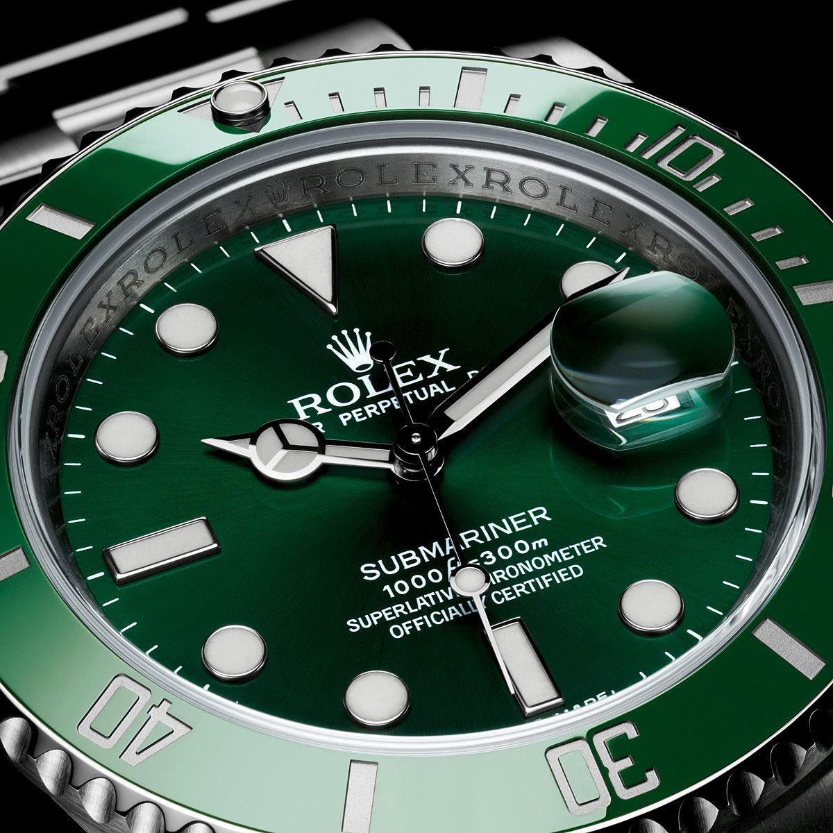 83e24a04ce5 ROLEX SUBMARINER IN GREEN (ref 116610LV) Nicknamed the