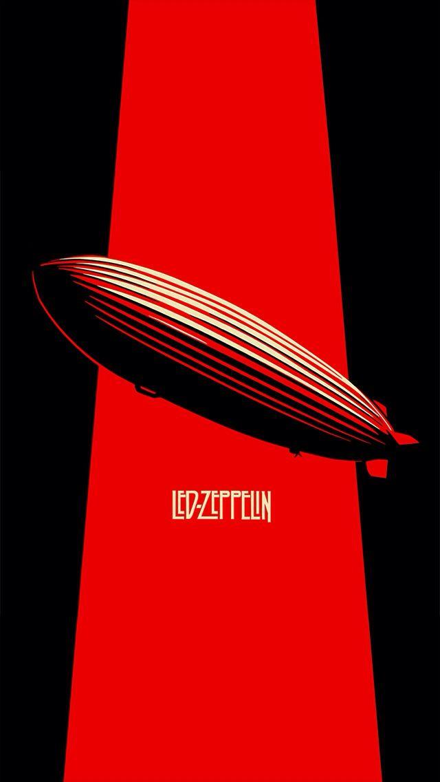 Led Zeppelin iPhone 5 wallpaper
