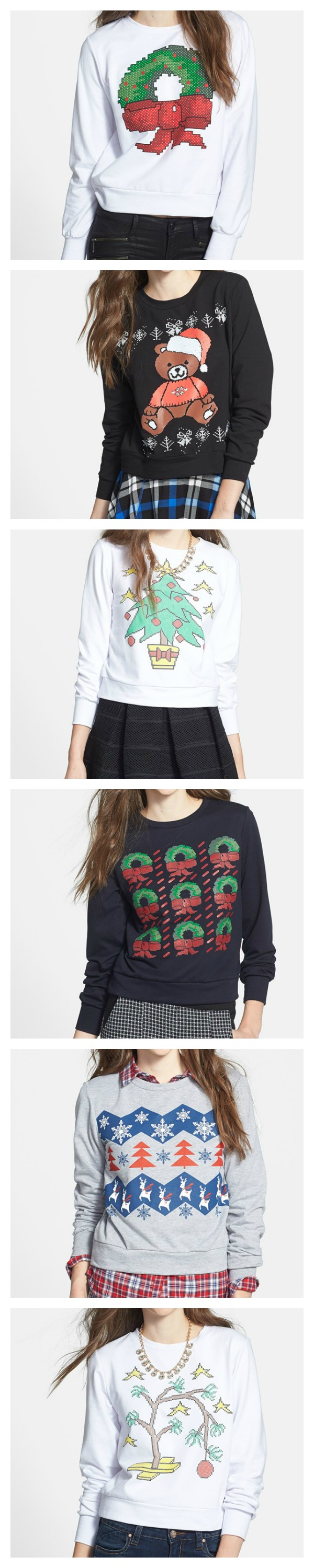Cute! Ugly Christmas Sweaters | Nordstrom Exclusive Brands ...