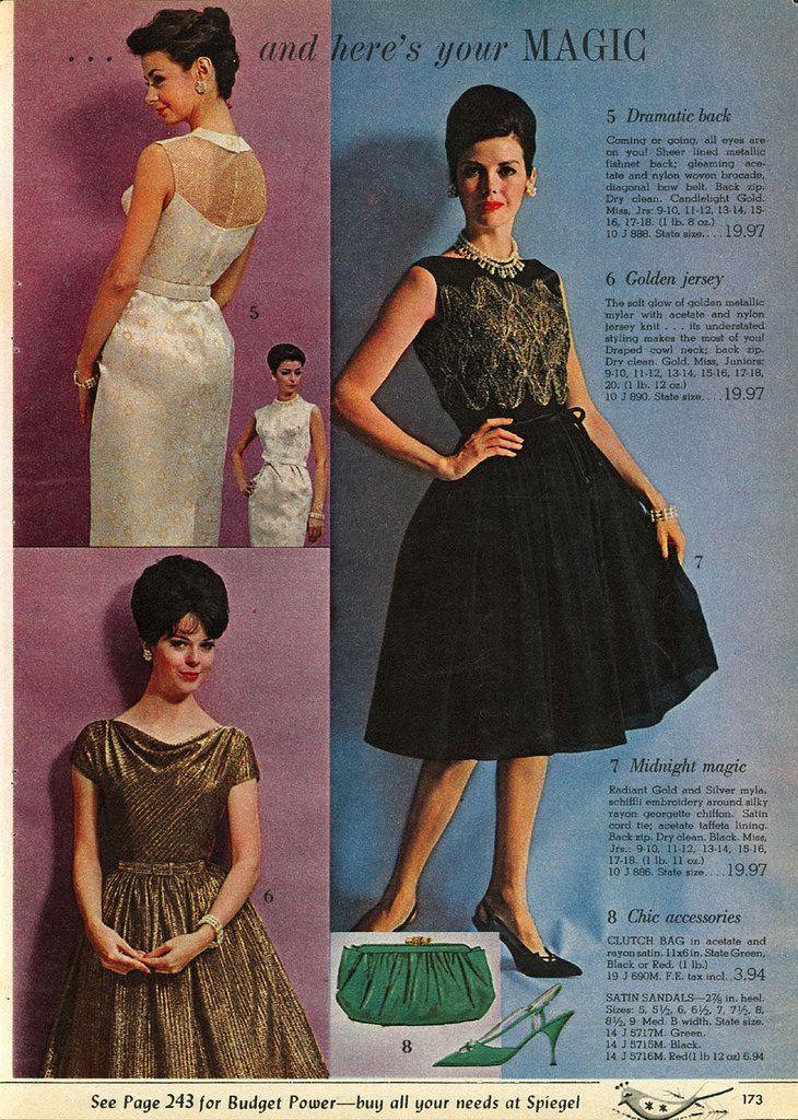 Spiegel Catalog 60s Vintage Clothing Pinterest Fashion