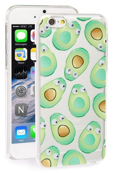 newest 17fc1 f0eca Skinnydip 'Googly Avocado' iPhone 6 & 6s Case available at ...