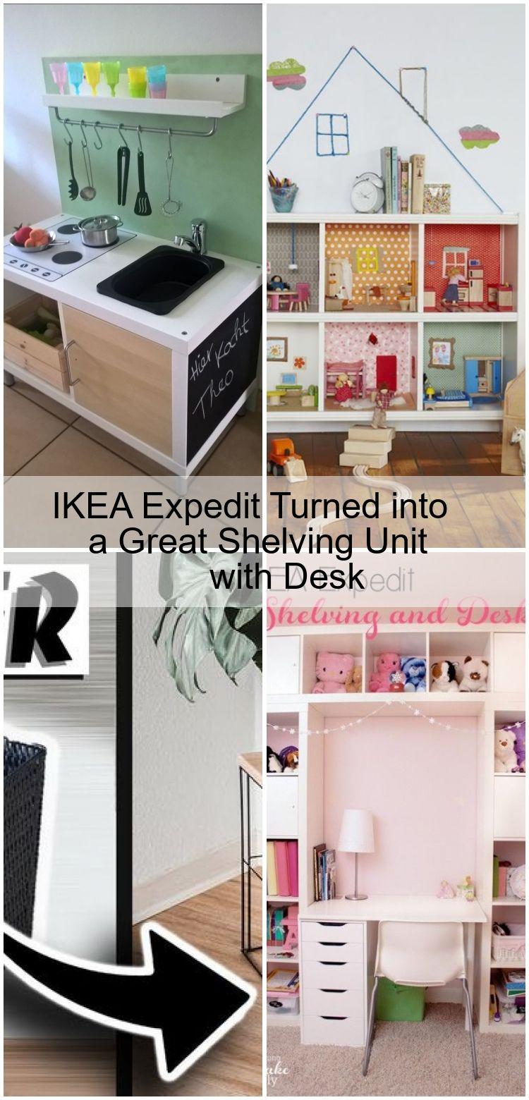 Ikea Expedit Wurde Zu Einem Grossartigen Regal Mit Schreibtisch Einem Expedit Grossartigen Regal Kinder Ikea Regal
