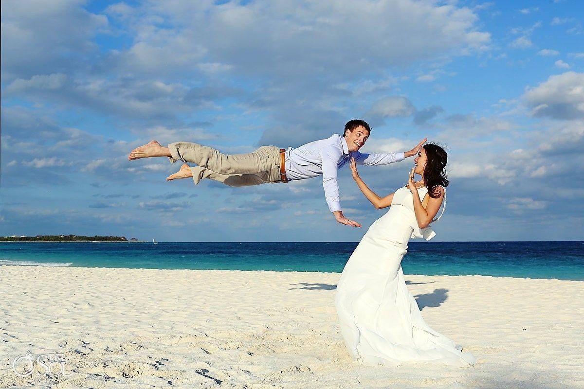 Riviera Maya Photography Cenote and Beach Trash the Dress - Nadja ...