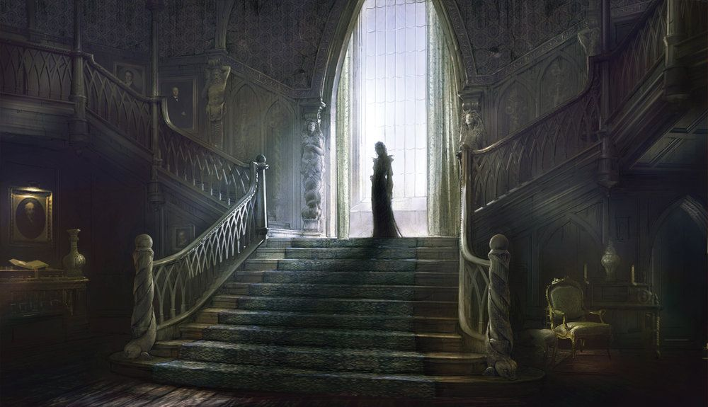 Collinwood mansion pesquisa google dark shadows pinterest - The beauty of an abandoned house the art behind the crisis ...