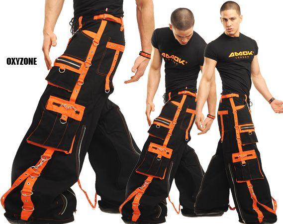 hose oxyzone tt9079 schwarz orange phat pants pinterest cyber punk rave and cyber. Black Bedroom Furniture Sets. Home Design Ideas