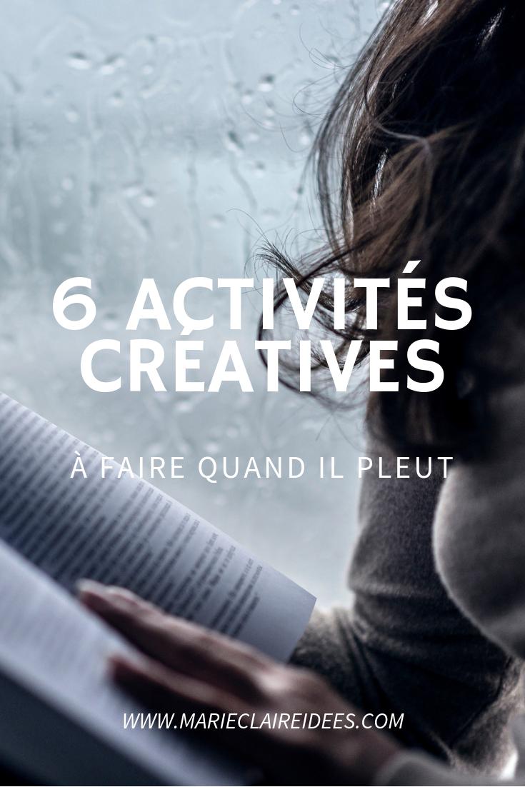 Quoi Faire A Geneve Quand Il Pleut 6 Activites Creatives A Faire Quand Il Pleut Activite Quand Il Pleut Il Pleut Activite
