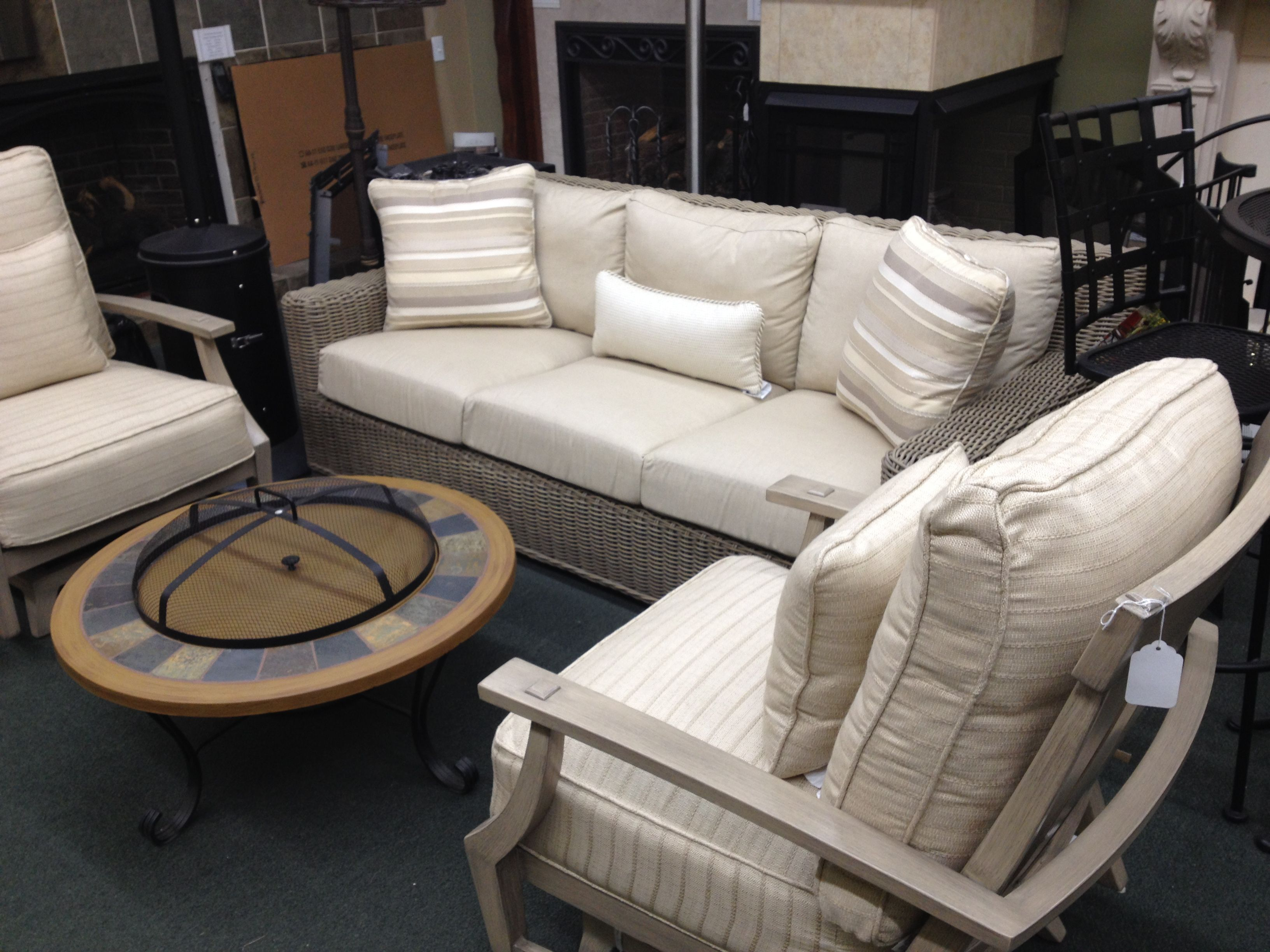 Summer Classics Rustic Sofa And Croquet Club Chairs Come See