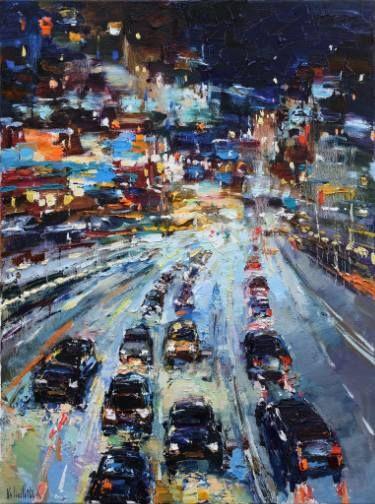 Error Landscape Paintings City Painting Urban Landscape