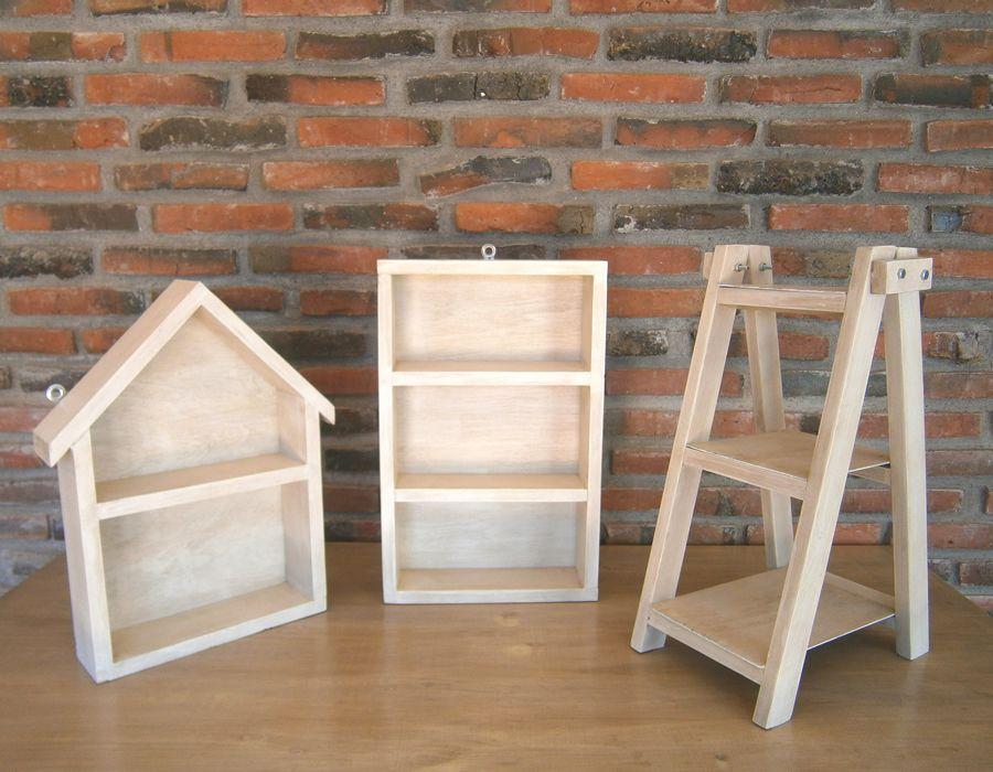 Muebles para mesa de dulces bautizo casita escalera for Muebles tipo vintage