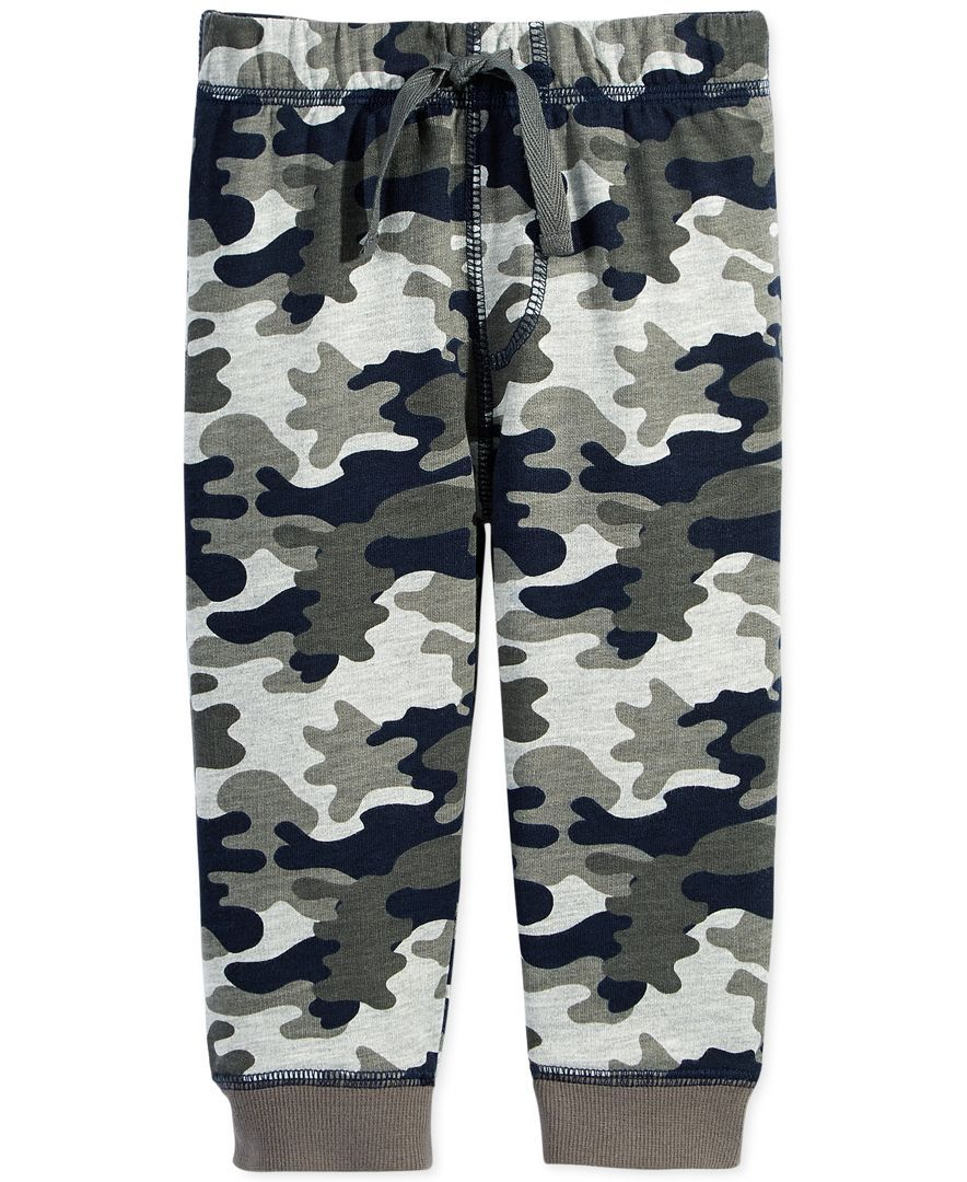 73b687c4b First Impressions Baby Boys' Camo-Print Jogger Pants | Baby clothes