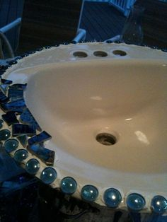 Contemporary Twin Bathroom Sinks And Fixtures Royalty Free Stock ...  bathroom chrome mosaic tile .