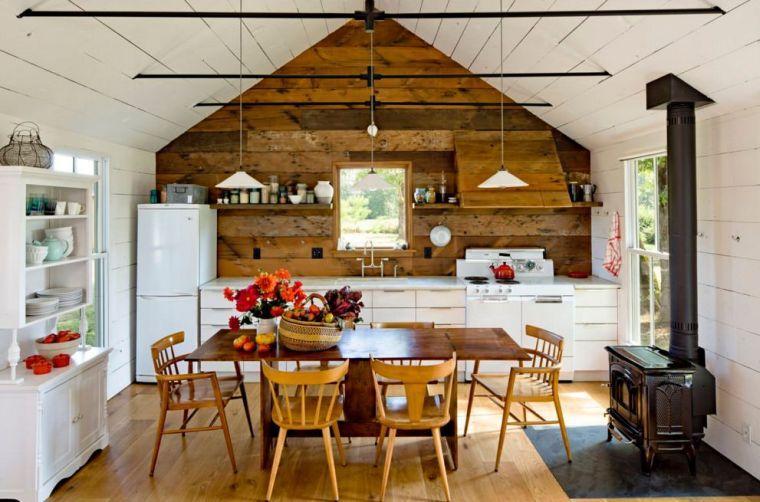 La Cuisine Retro Moderne 94 Idees Deco A Essayer