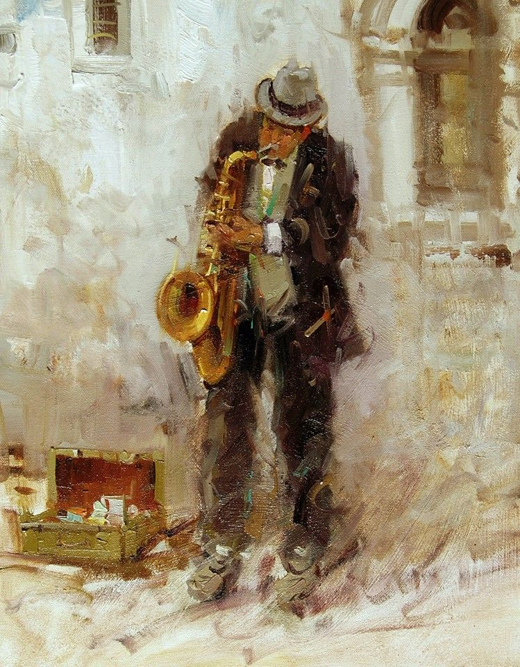 Mostafa Keyhani - Saxophone Player(Prague)