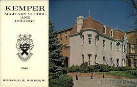 Boonville Missouri Kemper Military School And College Closed