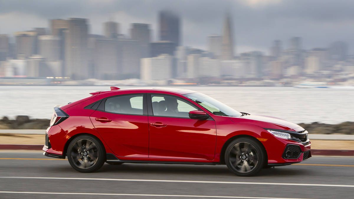 The Honda Civic Hatch Is Back For 2017 With An Enticing Starting Price Of 20 535 Including Destination And Honda Civic Hatchback Honda Civic Civic Hatchback