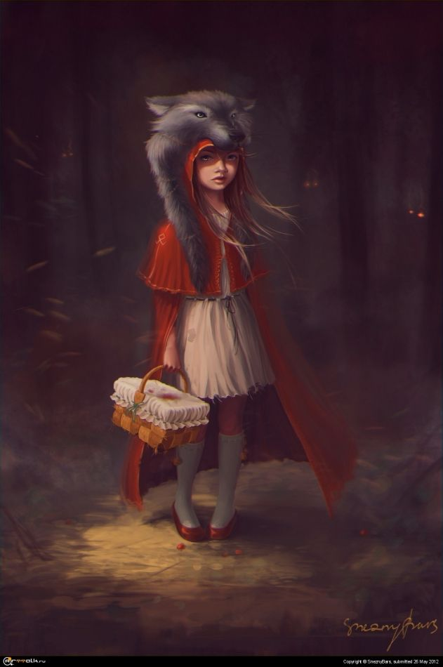 Little Red Riding Hood by SneznyBars