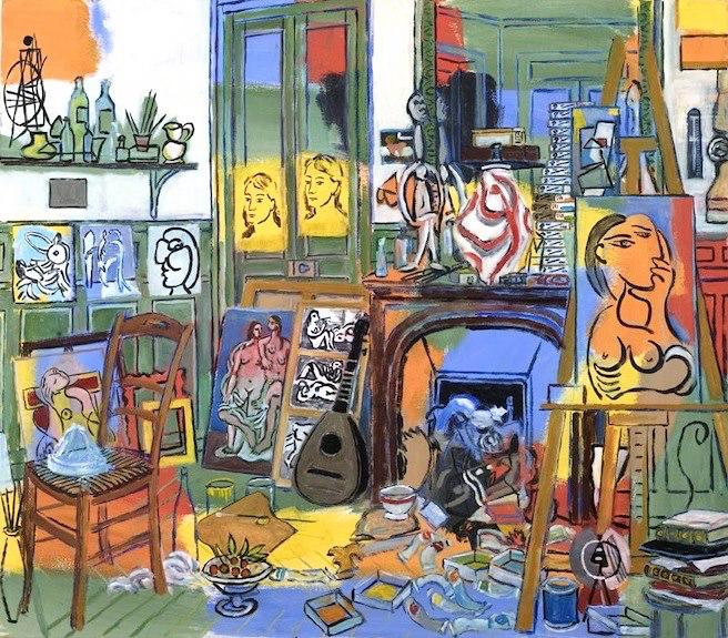 Pablo Picasso L\'atelier de la rue de La Boétie (Paris) | Art ...