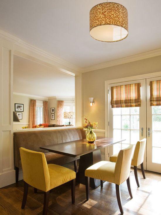 Curtains Ideas curtain rod roman shades : 40 best ideas about breakfast nook on Pinterest   Nooks, Built ins ...
