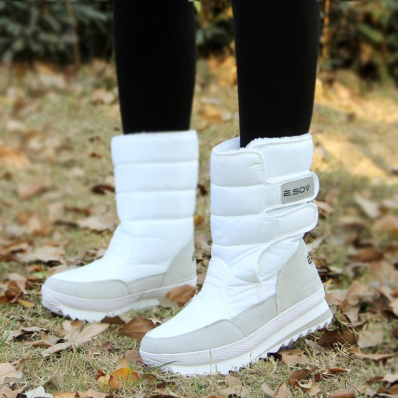 New Women Winter Snow Shoes Warm Fur Boots Fashion Ankle Size Fast Shipping