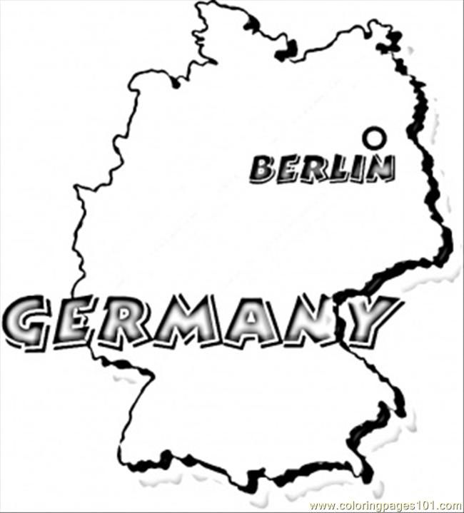 Germany Coloring Page Coloring Pages Coloring Pages For Boys
