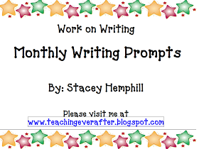 Teaching Ever After....: Work on Writing