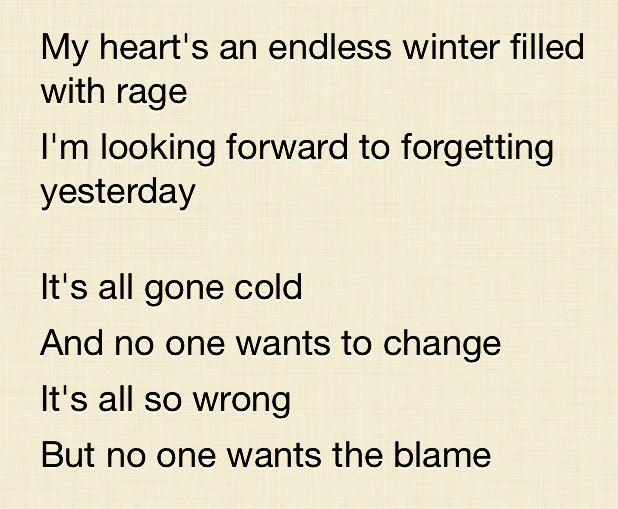 Cold by Five Finger Death Punch #ffdp #cold #lyrics