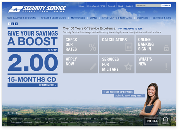 Security Service Federal Credit Union Is A 6 Billion Credit Union With Its Corporate Headquarters Located Federal Credit Union Hours Of Service Mortgage Loans
