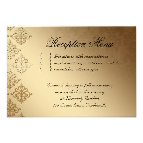 Wedding Reception Card Indian Damask Baby Pink Wedding reception - business invitation templates
