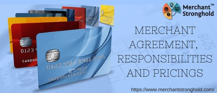Merchant Card Processing Agreement  Pricing Merchant Services