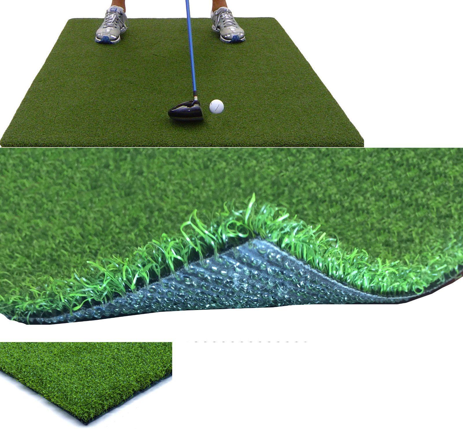 nets cages and mats 50876 backyard golf mat 36 x 60 pro