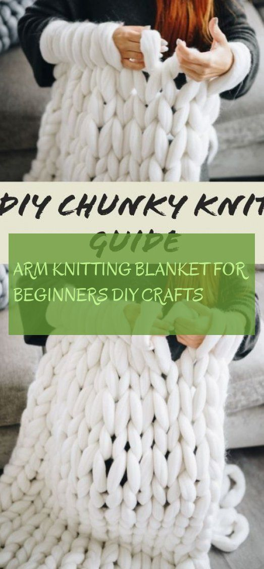 Photo of arm knitting blanket for beginners diy crafts ~ knitted blanket for beginners : …
