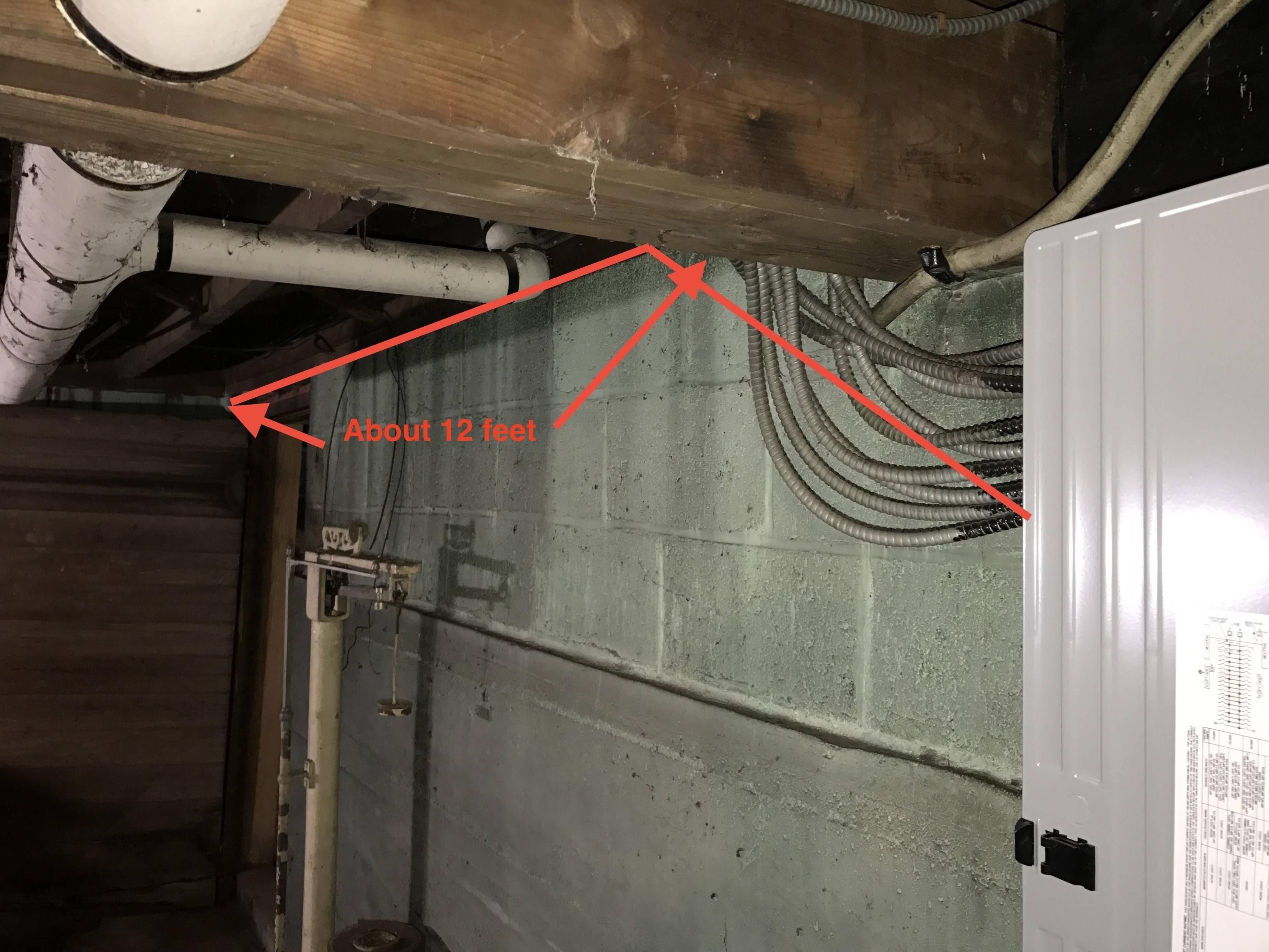 electrical wiring basement walls http dreamtree us pinterest rh pinterest com Wiring a Basement Room basement wiring concrete walls