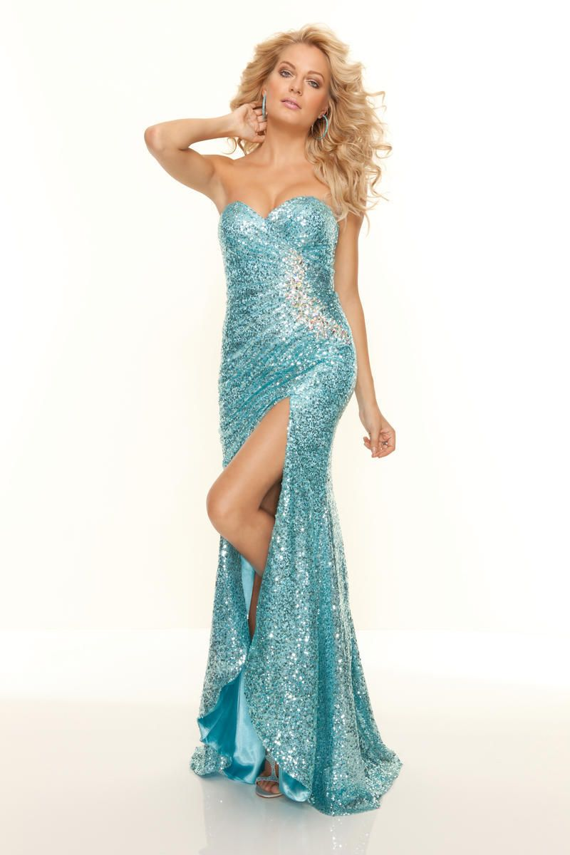 Hot sexy sweetheart 2015 ice blue cocktail dresses beaded sequins ...