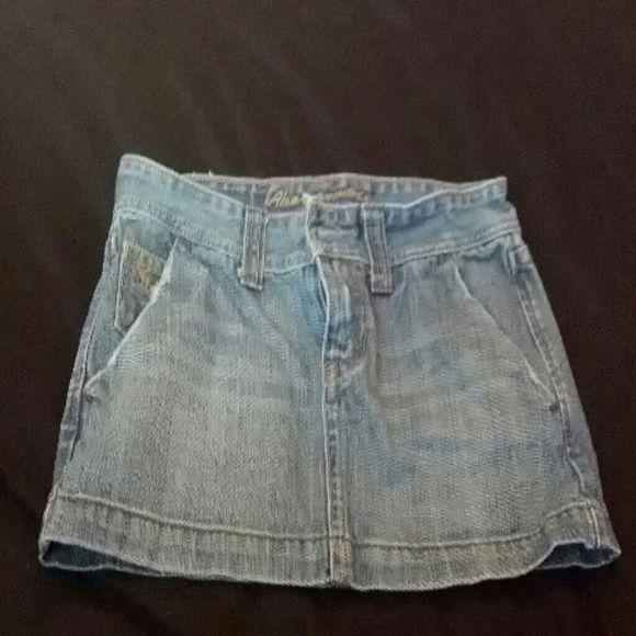 Abercrombie & Fitch denim skirt Denim mini skirt Abercrombie & Fitch Skirts Mini