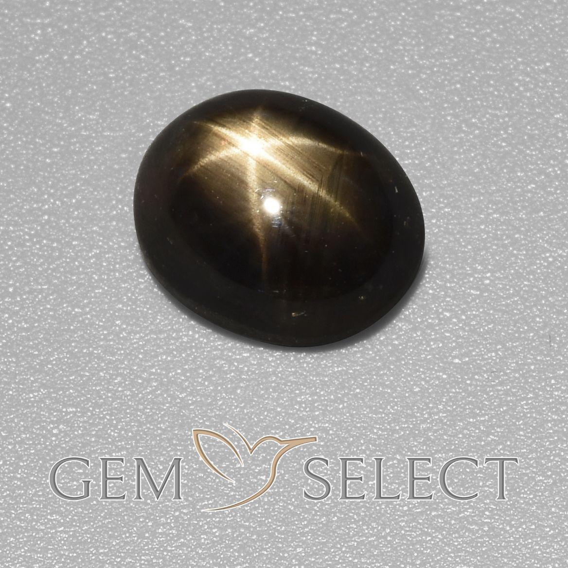 3 48 Ct Black Star Sapphire