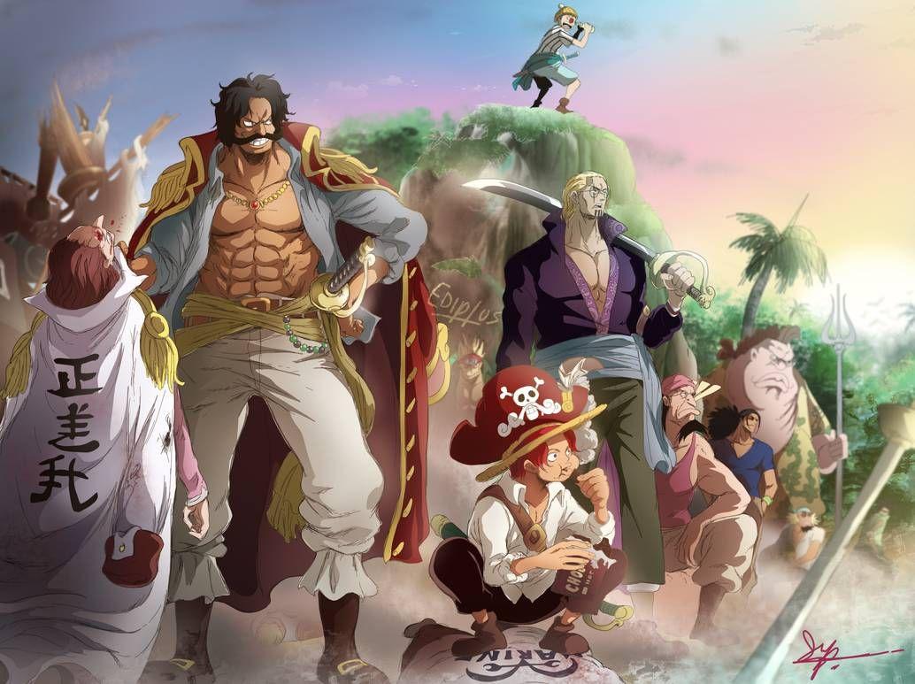 Piratas De Roger One Piece 965 By Ediptus On Deviantart One Piece Anime One Piece Deviantart One Piece Manga