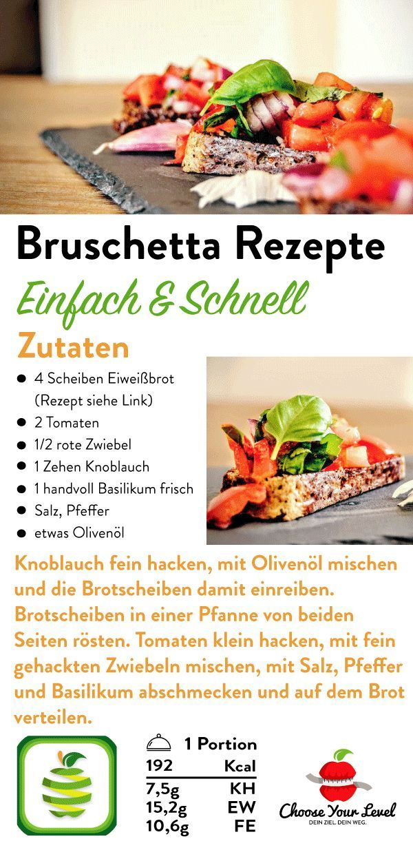 Low Carb Bruschetta - Choose Your Level