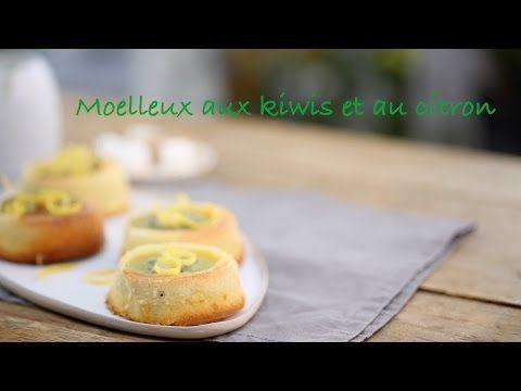 Moelleux de kiwi et citron - recette vidéo Interfel - Les fruits et légumes frais