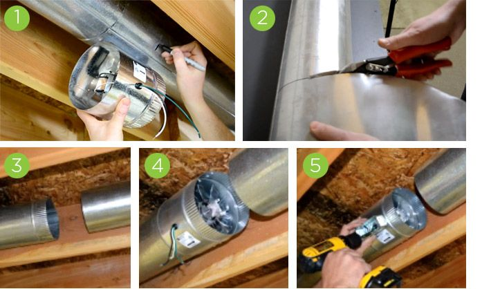 how to fit a flue damper