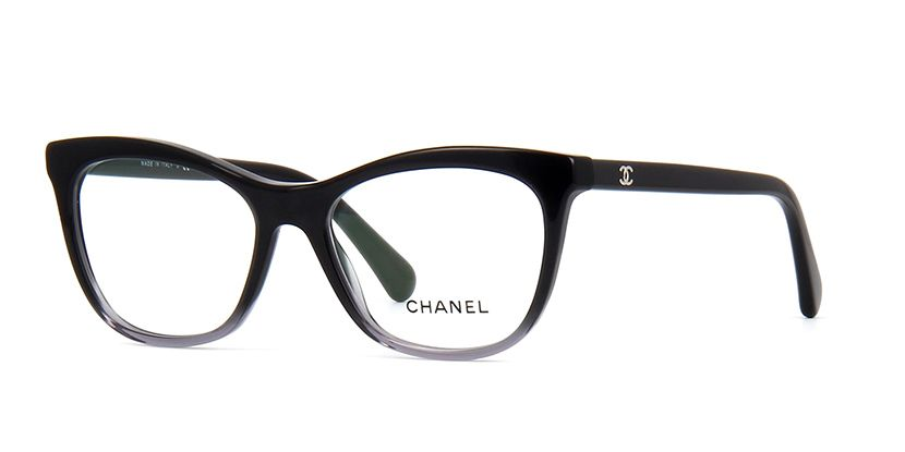 c7760d0bad4a Chanel 3341 1561 Black and Grey Gradient Glasses