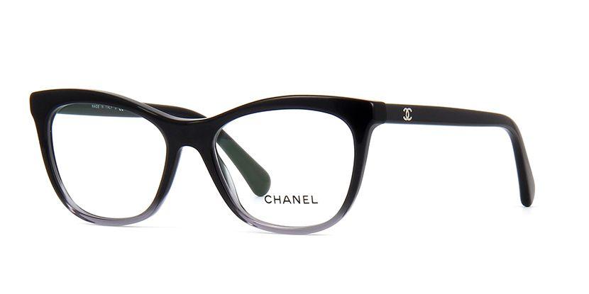 bbf7ef0b9e Chanel 3341 1561 Black and Grey Gradient Glasses