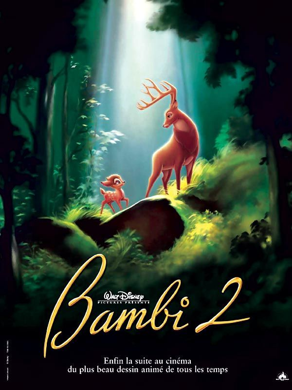 Telecharger Le Film Bambi 2 Gratuitement Affiches Disney Art Disney Bambi