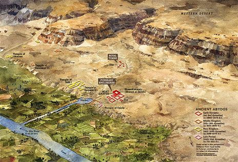 Abydos Egyptian Afterlife Map Civilization Pinterest Kemet