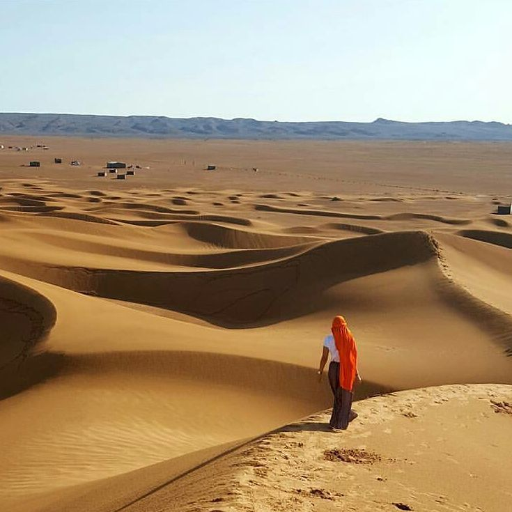 The Sahara The Largest Desert In The World Fills Nearly All Of - Largest desert in the world