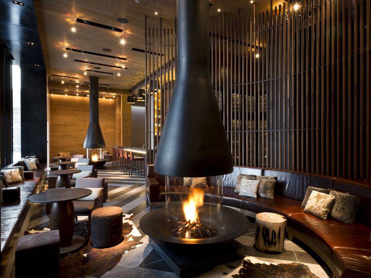 Pin Alexis Gillum Freeflowing Fireplaces Hotel