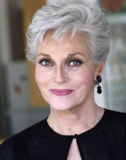 20 Best Quick Haircuts For Older Ladies | Short Ha