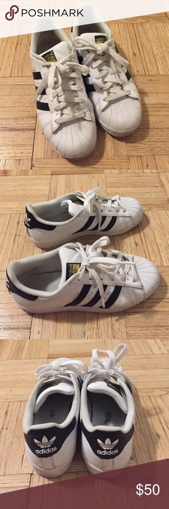Adidas la Superstar Kid | Size 5, o Adidas tamaño de la mujer 7 | 39db1bb - sfitness.xyz